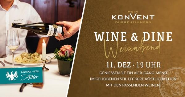 Wine & Dine. 11.12.2021