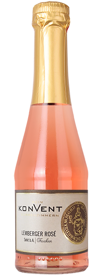 Lemberger Rosé Sekt trocken Piccolo