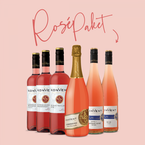 Rosé Weinpaket